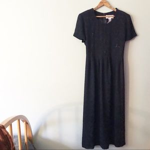 [Vintage] Jessica Howard Butterfly Sequin Dress